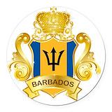 Barbados Car Magnets