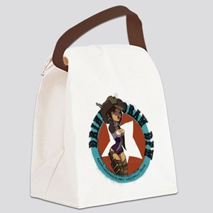 t_shirt_drinkanddrawdfw Canvas Lunch Bag