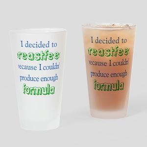 Formula Drinking Glass