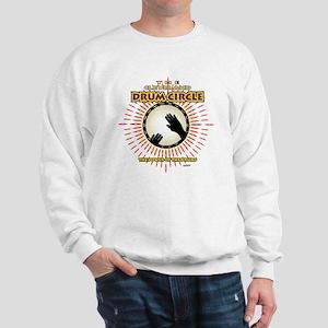 CleDrumCircleOVHDblk Sweatshirt