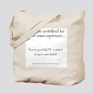 2-your.own.facts Tote Bag
