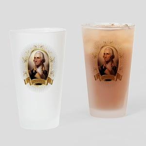 George Washington Drinking Glass