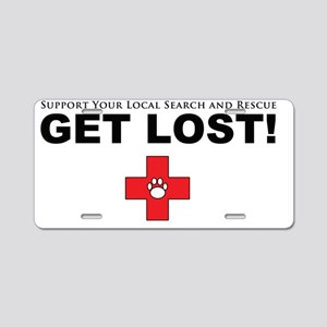 getlost Aluminum License Plate