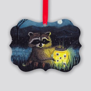 Collection of Fireflies Picture Ornament