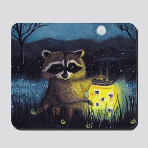 Collection of Fireflies Mousepad