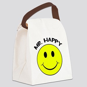 MisterHappy Canvas Lunch Bag