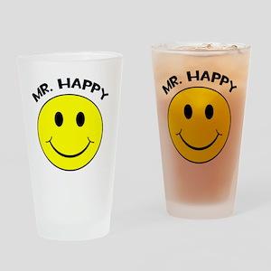 MisterHappy Drinking Glass