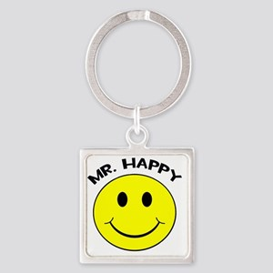 MisterHappy Square Keychain