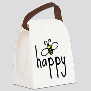 bee_happy Canvas Lunch Bag