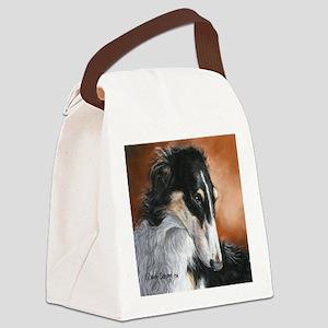Borzoi # 2 Canvas Lunch Bag
