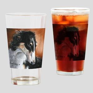 Borzoi # 2 Drinking Glass
