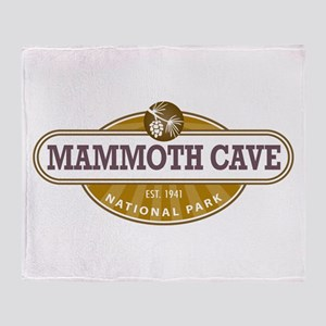 Mammoth Cave National Park Throw Blanket