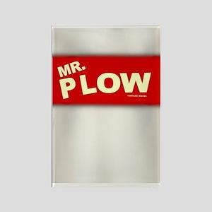 Mr Plow Rectangle Magnet