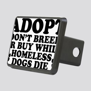Adopt Homeless Rectangular Hitch Cover