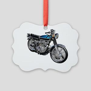 motorbike Picture Ornament