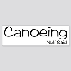 CanoeingNS Sticker (Bumper)
