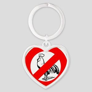 nocock2 Heart Keychain