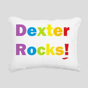 Dexter rocks Rectangular Canvas Pillow