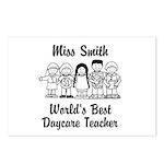 Custom Daycare Teacher Postcards (Package of 8)