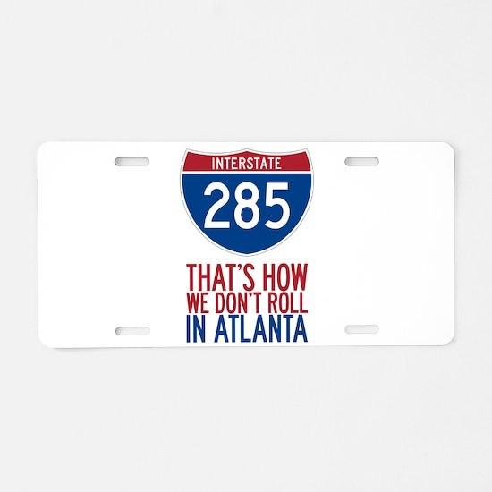 Traffic Sucks on 285 in Atlanta Georgia Aluminum L