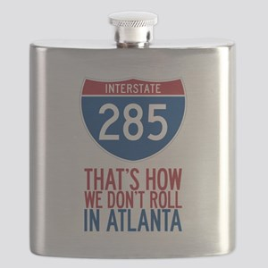 Traffic Sucks on 285 in Atlanta Georgia Flask