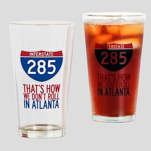 Traffic Sucks on 285 in Atlanta Georgia Drinking G