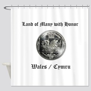 Wales Shower Curtain