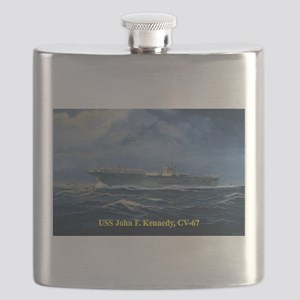 USS JFK clothes 3 Flask