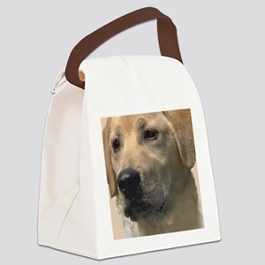 Yellow Labrador Retriever Canvas Lunch Bag