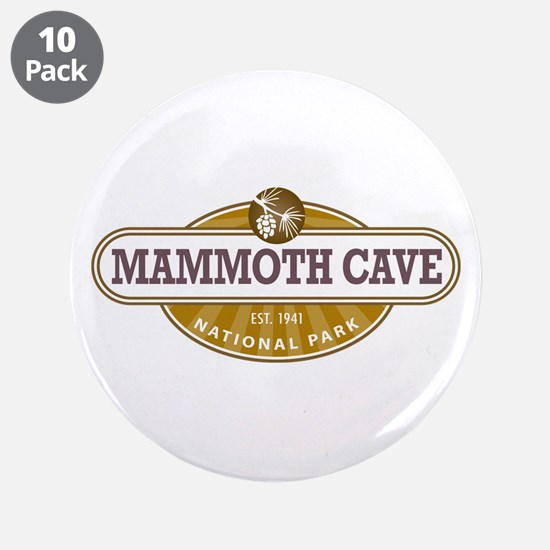 """Mammoth Cave National Park 3.5"""" Button (10 pack)"""