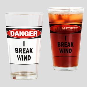 Break Wind Drinking Glass