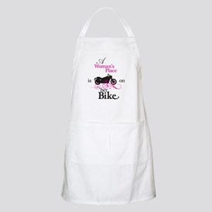 Womans Place, Bike Flourish Apron