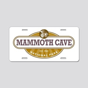 Mammoth Cave National Park Aluminum License Plate