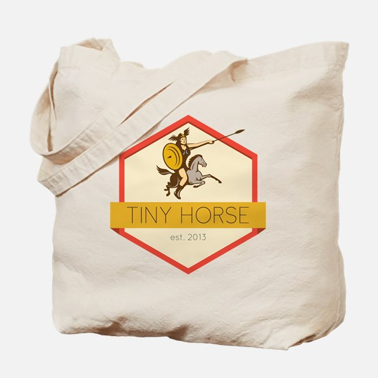 Tiny Horse Tote Bag