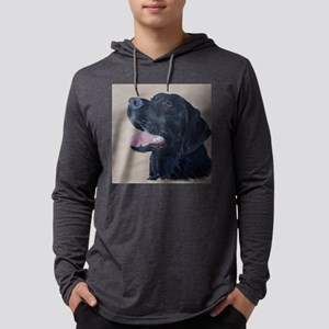 Black Labrador Long Sleeve T-Shirt
