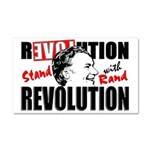 Stand With Rand! Car Magnet 20 X 12