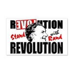 &Quot;Stand With Rand&Quot; 20X12 Wall Decal