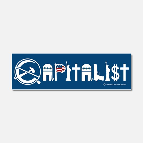 Cute Right wing Car Magnet 10 x 3