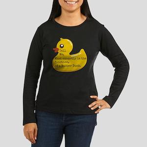 Rubber Duck, Func Women's Long Sleeve Dark T-Shirt