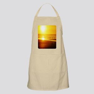 sunset and sea birds Apron