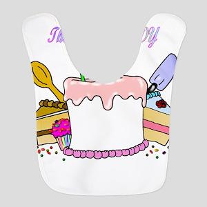 cake lady Bib