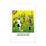 Animals Not Born In A Barn Mini Poster Print