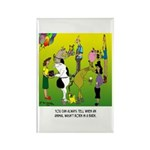 Animals Not Born In A Barn Rectangle Magnet (10 pa