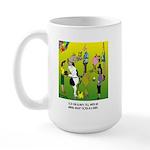 Animals Not Born In A Barn Large Mug
