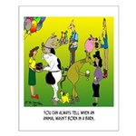 Animals Not Born In A Barn Small Poster