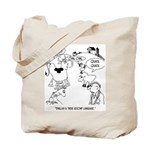 English is Farm Animals 2nd Language Tote Bag