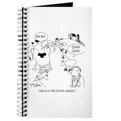 English is Farm Animals 2nd Language Journal
