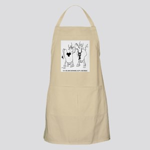 Body Over Brains In Cows Apron