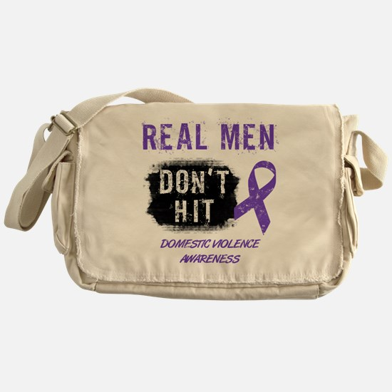 Domestic Violence Awareness Messenger Bag
