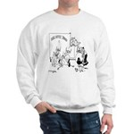 Cows on Coffee Break Sweatshirt